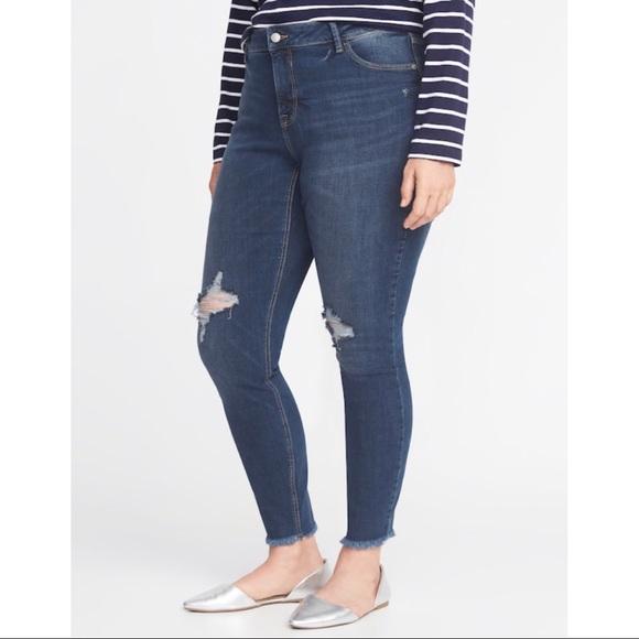 e3e5496b38d Old Navy Jeans | Plus Size High Rise Rockstar 28s | Poshmark